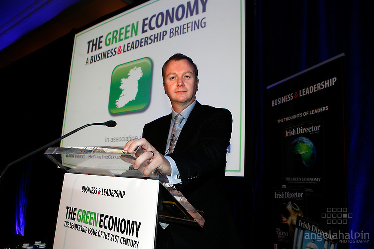 The Green Economy, A business & Leadership Briefing held in the Four Seasons Hotel, Dublin on 31st May 2011