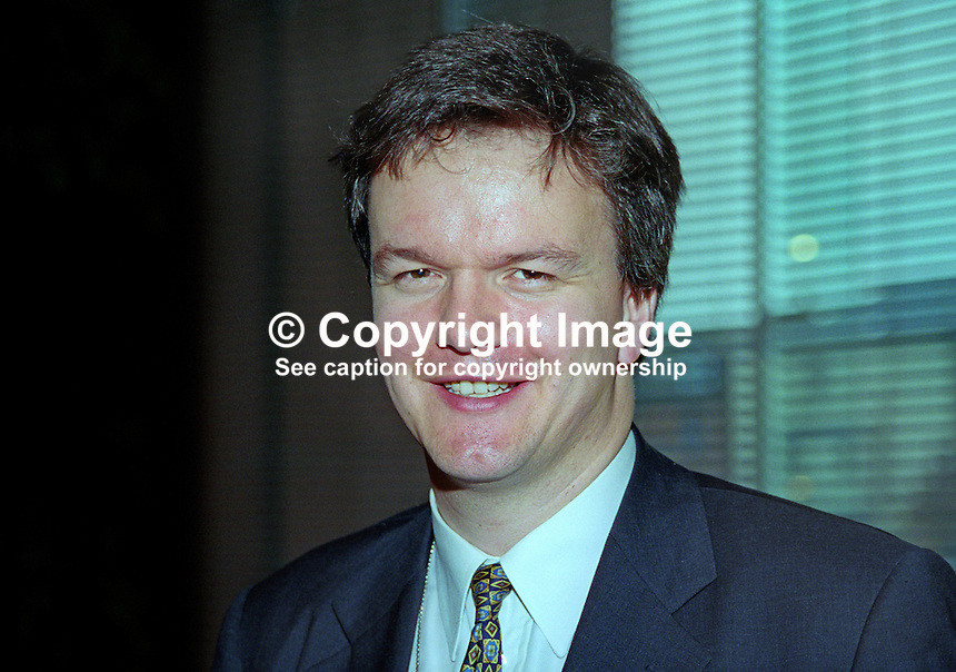 Michael Moore, MP, Liberal Democrat, UK, annual conference, September 1999. 199909034<br />