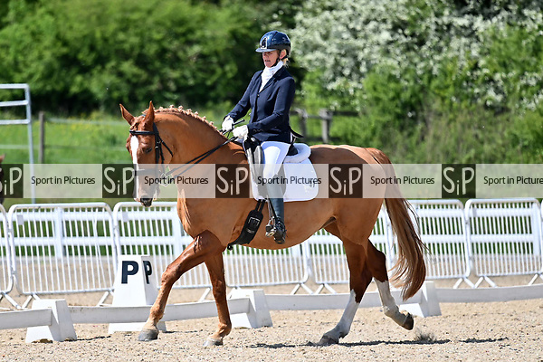 Class 5. British dressage. Brook Farm Training Centre. Essex. UK. 12/05/2019. ~ MANDATORY Credit Garry Bowden/Sportinpictures - NO UNAUTHORISED USE - 07837 394578