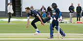Cricket Scotland - Scotland V Sri Lanka at Kent County cricket ground at Benkenham, in the first of two matches on Sunday (today and Tuesday) - Stuart Whittingham bowling - picture by Donald MacLeod - 21.05.2017 - 07702 319 738 - clanmacleod@btinternet.com - www.donald-macleod.com