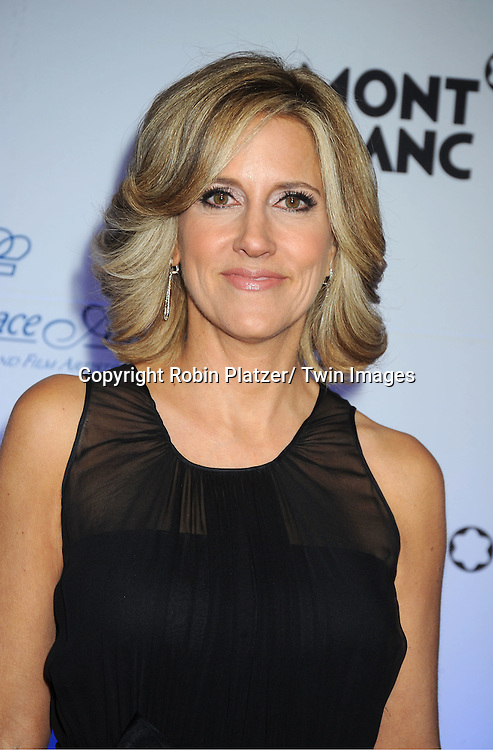 Alisyn Camerota of Fox & Friends attends The Princess Grace Foundation Awards Gala on ..November 1, 2011 at Cipriani 42nd Street in New York City.