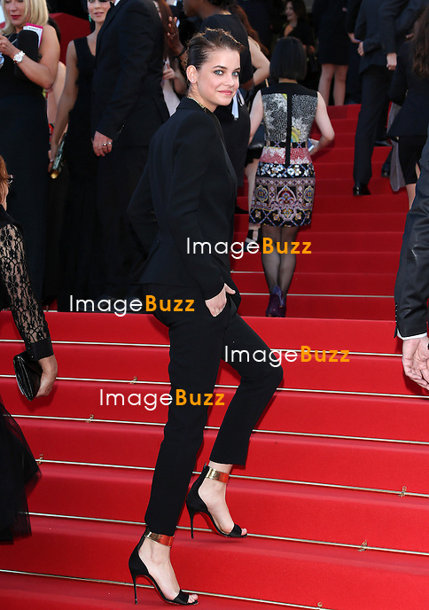 CPE/Model Barbara Palvin attends the ''Behind The Candelabra' premiere during The 66th Annual Cannes Film Festival at The 60th Anniversary Theatre on May 21, 2013 in Cannes, France.