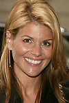 Lori Loughlin Attending the WB TV Network's 2004 - 2005 Upfront Announcements at Madison Square Garden in New York City.<br />