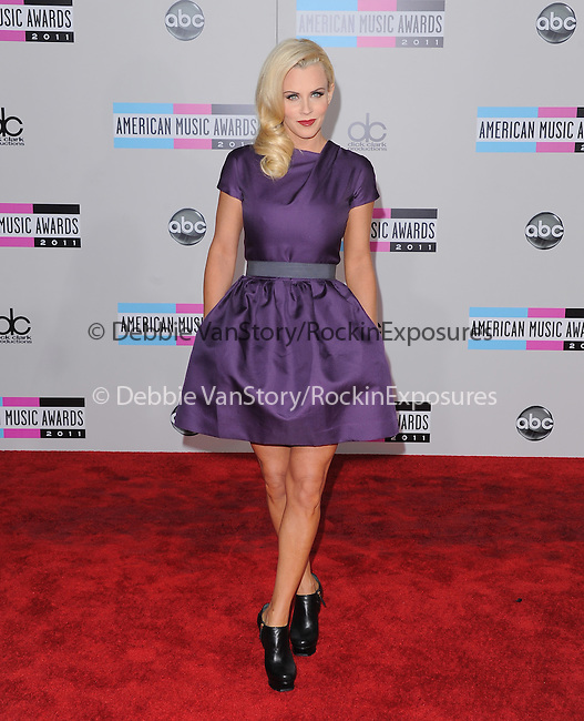 Jenny McCarthy attends 2011 American Music Awards held at The Nokia Theater Live in Los Angeles, California on November 20,2011                                                                               © 2011 DVS / Hollywood Press Agency
