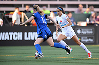 Seattle, WA - Friday June 23, 2017: Shea Groom during a regular season National Women's Soccer League  (NWSL) match between the Seattle Reign FC and FC Kansas City at Memorial Stadium.