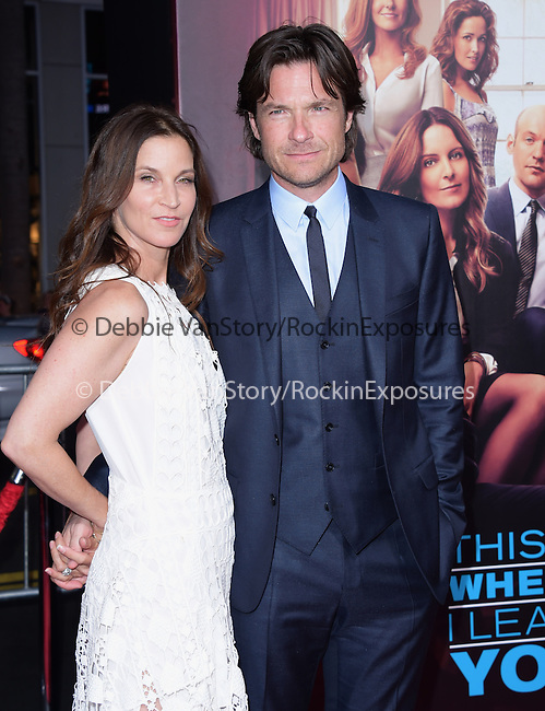 Jason Bateman and Amanda Anka<br />  attends The Warner Bros Pictures L.A. Premiere of This is where I leave you held at The TCL Chinese Theatre in Hollywood, California on September 15,2014                                                                               © 2014 Hollywood Press Agency