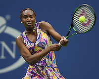 FLUSHING NY- SEPTEMBER 01: Venus Williams Vs Julia Goerges on Arthur Ashe Stadium at the USTA Billie Jean King National Tennis Center on September 1, 2016 in Flushing Queens. Credit: mpi04/MediaPunch
