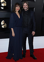 LOS ANGELES - FEBRUARY 10:  Rashida Jones and Alan Hicks at the 61st Grammy Awards at Staples Center on February 10, 2019 in Los Angeles, California. (Photo by Xavier Collin/PictureGroup)