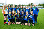 Runners up  Inter Kenmare  in the Tom Hayes Cup U14 Girls Final against Listowel Celtic  at Mounthawk Park on Monday