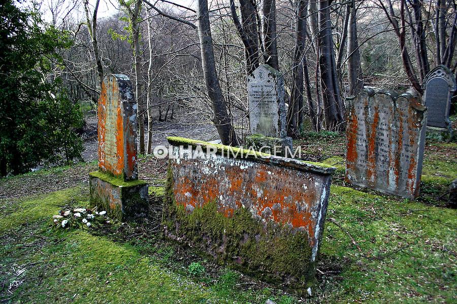 Cemitério antigo. Highlands.Escócia.2007. Foto de Marcio Nel Cimatti.