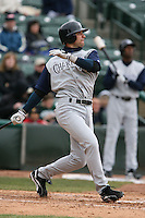 April 15th, 2007:  Kenny Perez of the Charlotte Knights, Class-AAA affiliate of the Chicago White Sox, during a game at Frontier Field in Rochester, NY.  Photo by:  Mike Janes/Four Seam Images