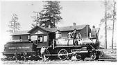 D&amp;RG locomotive #95 &quot;Embuda&quot; built in 1880.<br /> D&amp;RG    1885