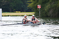 Race: 306  MasD.2-  Final<br /> 61  Maidenhead Rowing Club (Scott)<br /> 62  Maidenhead Rowing Club (Brockwell)<br /> <br /> Henley Masters Regatta 2018 - Saturday<br /> <br /> To purchase this photo, or to see pricing information for Prints and Downloads, click the blue 'Add to Cart' button at the top-right of the page.