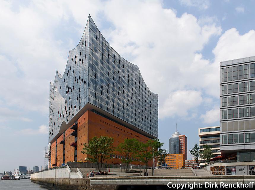Elbphilharmonie in der Hafencity, Hamburg, Deutschland<br /> Elbphilharmonie in Hafencity, Hamburg, Germany