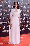 Melina Matthews attends to the Red Carpet of the Goya Awards 2017 at Madrid Marriott Auditorium Hotel in Madrid, Spain. February 04, 2017. (ALTERPHOTOS/BorjaB.Hojas)