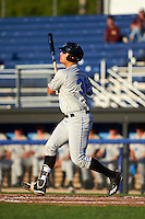 Hudson Valley Renegades first baseman Nathaniel Lowe (36) at bat during a game against the Batavia Muckdogs on August 1, 2016 at Dwyer Stadium in Batavia, New York.  Hudson Valley defeated Batavia 5-1.  (Mike Janes/Four Seam Images)