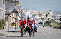 Team Trek-Segafredo at winter training camp <br /> <br /> january 2017, Mallorca/Spain