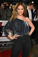 """LONDON, UK. October 03, 2018: Kiera-Nicole Brennan at the premiere of """"Johnny English Strikes Again"""" at the Curzon Mayfair, London.<br /> Picture: Steve Vas/Featureflash"""
