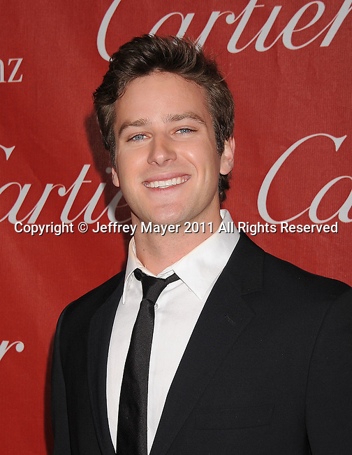 PALM SPRINGS, CA - January 08: Armie Hammer attends the 22nd Annual Palm Springs International Film Festival Awards Gala at Palm Springs Convention Center on January 8, 2011 in Palm Springs, California.
