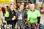 Claire Kelly, Sheena Groves and Joe Arbon at the Christmas Food & Craft Fair in Manor West on Saturday.