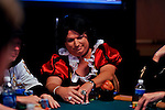 Richard Wyrick came dressed as Snow White to play on Day 1A of the Main Event.