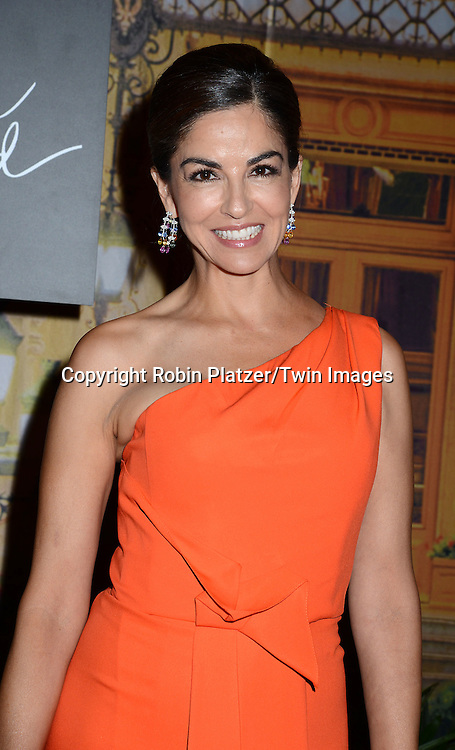 Dayssi Olarte De Kanavo attends the New Yorkers for Children's Fall Gala on September 16, 2015 at Cipriani 42nd Street in New York City, New York, USA.<br /> <br /> photo by Robin Platzer/Twin Images<br />  <br /> phone number 212-935-0770