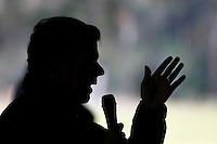 NARIÑO -COLOMBIA. 13-06-2014. Juan Manuel Santos (Der), Presidente y candidato presidencial de Colombia por el partido de la Unidad Nacional en campaña. Las elecciones Presidenciales segunda vuelta en Colombia se realizarán el 15 de junio de 2014 en todo el país./ Juan Manuel Santos, President and presidential candidate of Colombia for the National Unity party in campaing. The Presidential elections second round in Colombia will be held in june 15, 2014 across the country. Photo: VizzorImage/ Campaña JMS Presidente<br /> VizzorImage PROVIDES THE ACCESS TO THIS PHOTOGRAPH ONLY AS A PRESS AND EDITORIAL SERVICE AND NOT IS THE OWNER OF COPYRIGHT; ANOTHER USE HAVE ADDITIONAL PERMITS AND IS  REPONSABILITY OF THE END USER