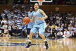 06 February 2012: North Carolina's Shannon Smith. The Duke University Blue Devils defeated the University of North Carolina Tar Heels 96-56 at Cameron Indoor Stadium in Durham, North Carolina in an NCAA Division I Women's basketball game.