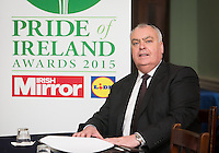 02/04/2015<br /> Assistant Garda Commissioner Derek Byrne during the Pride of Ireland judging day in the Mansion House, Dublin.<br /> Photo:  Gareth Chaney Collins