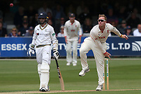 Simon Harmer in bowling action for Essex during Essex CCC vs Yorkshire CCC, Specsavers County Championship Division 1 Cricket at The Cloudfm County Ground on 7th July 2019