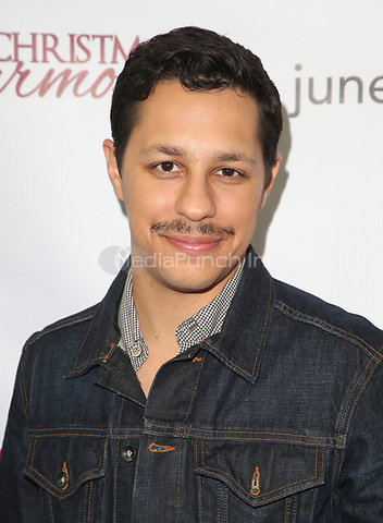 "LOS ANGELES, CA - NOVEMBER 7: David Del Rio, at Premiere of Lifetime's ""Christmas Harmony"" at Harmony Gold Theatre in Los Angeles, California on November 7, 2018. Credit: Faye Sadou/MediaPunch"