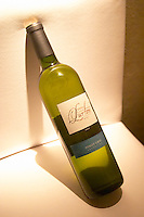 Bottle of Pinot Gris 2005 Bodega Jacques and Francois Lurton Mendoza Valle de Uco The Dolly Irigoyen - famous chef and TV presenter - private restaurant, Buenos Aires Argentina, South America Espacio Dolli