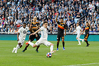 St. Paul, MN - Saturday May 25, 2019: Minnesota United FC defeated Houston Dynamo 1-0 during their Major League Soccer (MLS) match at Allianz Field.