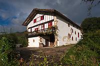 Europe/France/Aquitaine/64/Pyrénées-Atlantiques/Pays-Basque/Sare: La Maison Ortillopitz
