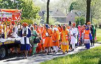 Nederland Almere 2016 05 08.  Sikhs vieren Vaisakhi. Nagar Kirtan optocht. Foto Berlinda van Dam / Hollandse Hoogte
