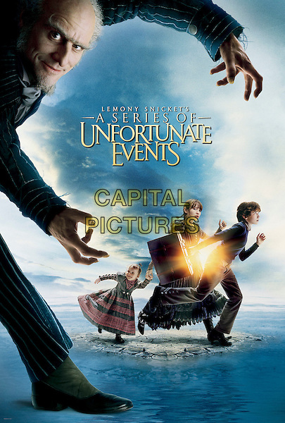 POSTER ART.in Lemony Snicket's A Series OF Unfortunate Events.Filmstill - Editorial Use Only.CAP/AWFF.supplied by Capital Pictures.