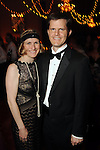 Kelly and Daniel Booth at the SPA's Forever Paris Gala at the Wortham Theater Saturday March 29, 2014.(Dave Rossman photo)