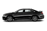 Car Driver side profile view of a 2018 Ford Taurus SHO 4 Door Sedan Side View