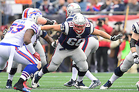 Sunday, October 2, 2016: New England Patriots center David Andrews (60) in game action during the NFL game between the Buffalo Bills and the New England Patriots held at Gillette Stadium in Foxborough Massachusetts. Buffalo defeats New England 16-0. Eric Canha/Cal Sport Media