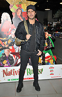 Alik Alfus at the &quot;Nativity Rocks!&quot; gala film screening, Vue West End, Leicester Square, London, England, UK, on Sunday 04 November 2018.<br /> CAP/CAN<br /> &copy;CAN/Capital Pictures