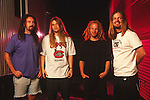 Various portrait sessions of the rock band, Corrosion of Conformity