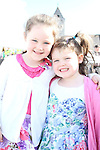 Ava Branigan and Sarah Carr at the Garda Station Open Day...Picture Jenny Matthews/Newsfile.ie