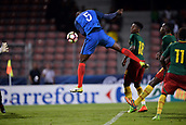 June 8th 2017, Créteil, France, U-21 International football friendly, France versus Cameroon;  bHeaded goal scored by Mouctar Diakhaby (fra)