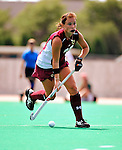 28 August 2009: Boston College Eagles' back/midfielder Caitlin McGovern, a Senior from Churchville, PA, in action against the University of Vermont Catamounts at Moulton Winder Field in Burlington, Vermont. The Eagles shut out the Catamounts 3-0 in both teams' first game of the 2009 season. Mandatory Photo Credit: Ed Wolfstein Photo