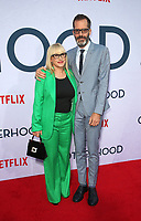 "31 July 2019 - Hollywood, California - Patricia Arquette, Eric White. Photo Call For Netflix's ""Otherhood"" held at The Egyptian Theatre. Photo Credit: FSadou/AdMedia"