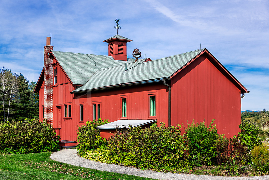 The Norman Rockwell Museum and studio, Stockbridge, Massacusetts, USA.