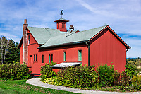 The Norman Rockwell Museum and studio, Stockbridge, Massacusetts, USA.
