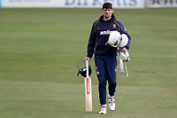 Alastair Cook walks across the outfield during Essex CCC Pre-Season Practice at The Cloudfm County Ground on 5th March 2018