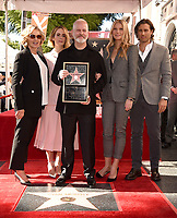 HOLLYWOOD, CALIFORNIA - DECEMBER 4: (L-R) Jessica Lange, Sarah Paulson, Ryan Murphy, Gwyneth Paltrow and Brad Falchuk attend a ceremony honoring Ryan Murphy with a star on The Hollywood Walk of Fame on December 4, 2018 in Hollywood, California. (Photo by Frank Micelotta/Fox/PictureGroup)