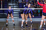 Katie Tylman (7) of the High Point Panthers during the match against the Liberty Flames at the Millis Athletic Center on September 23, 2016 in High Point, North Carolina.  The Panthers defeated the Flames 3-1.   (Brian Westerholt/Sports On Film)